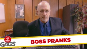 Boss Pranks – Best of Just For Laughs Gags