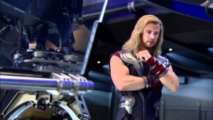 1 The Avengers Behind the Scenes