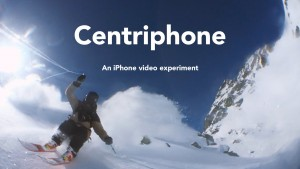 Centriphone – an iPhone video experiment by Nicolas Vuignier