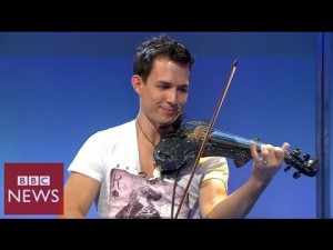 Fastest violinist in the world – BBC News