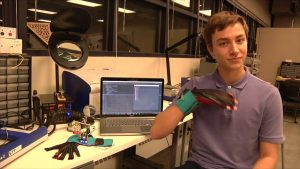 Gloves that Translate Sign Language into Text and Speech