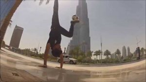 Freestyle football- Freestylers are awesome-Acrobatic madness