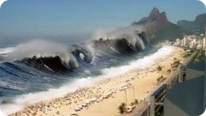 MEGA TSUNAMI – Caught on camera – Biggest Tsunami in the world caught on tape